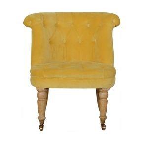 Mustard-Velvet-Accent-Chair-In900_Artisan-Furniture_Treniq_0