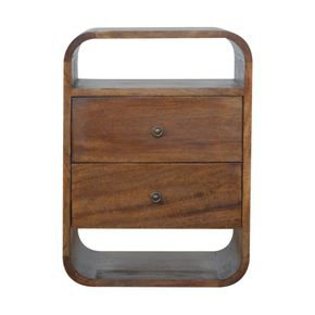 Chestnut-Curved-Edge-With-2-Drawers-Bedside-In892_Artisan-Furniture_Treniq_0
