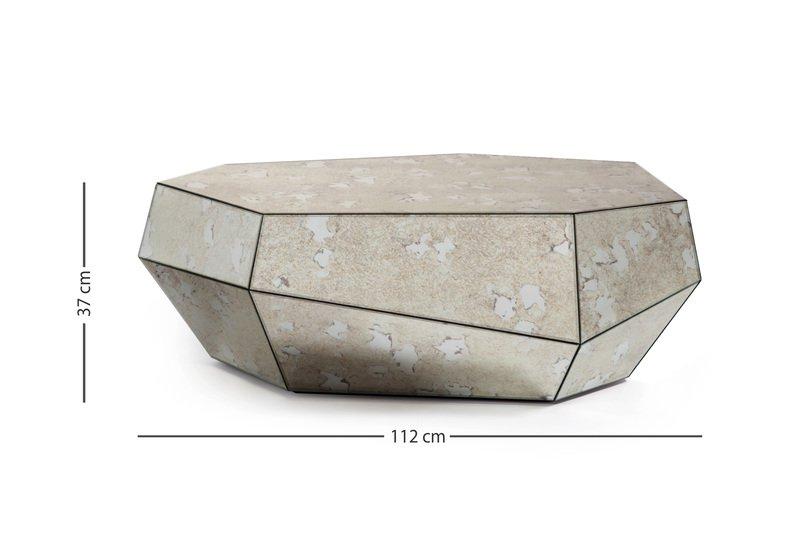 Three rocks medium aged mirror insidherland treniq 5
