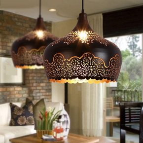 Moroccan-Style-Pendant-Lights,-Metal-Pendant-Light,-Shade,-Iron-Pendant-Lig_Wood-Mosaic-Ltd_Treniq_1