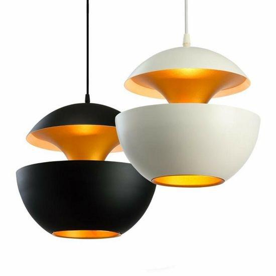 Saturn pendant light  contemporary  decorative  orange  metal pendant light wood mosaic ltd treniq 1 1572218151414