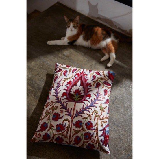 Hagia sophia istanbul suzani cushion double sided with ikat heritage geneva treniq 1 1572943196511