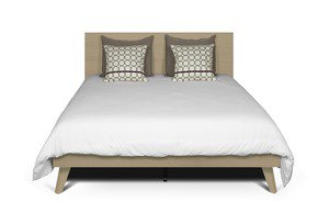 Mara-Bed-Rectangular-Headboard-160-And-Wooden-Legs-W/-Slats_Tema-Home_Treniq_0