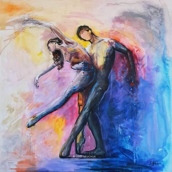 Dancing with a stranger painting svetlana leuchuk treniq 1 1573145259118