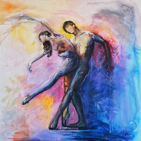 Dancing-With-A-Stranger-Painting_Lanagraphic_Treniq_0