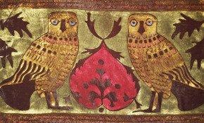 Civette-Owls-Pillow_Via-Venezia-Textiles_Treniq_0