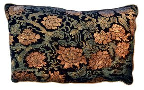 Chinese-Branch-2-Pillow_Via-Venezia-Textiles_Treniq_0