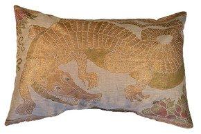 Alligator-Pillow_Via-Venezia-Textiles_Treniq_0