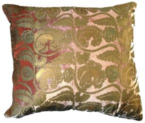 Oak-Leaves-Pillow_Via-Venezia-Textiles_Treniq_0