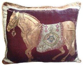 Horse-Pillow_Via-Venezia-Textiles_Treniq_0