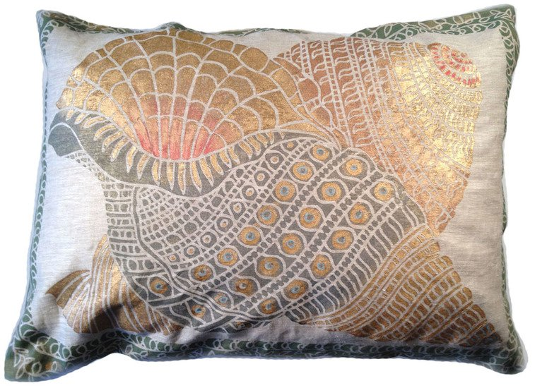 Shells pillow via venezia textiles treniq 2 1573480799400