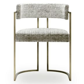 Julius Small Brass Dining Chair
