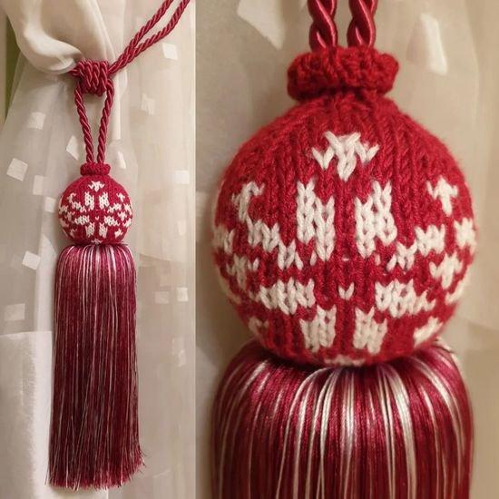 Bonea tassel alz 00019 810 color red