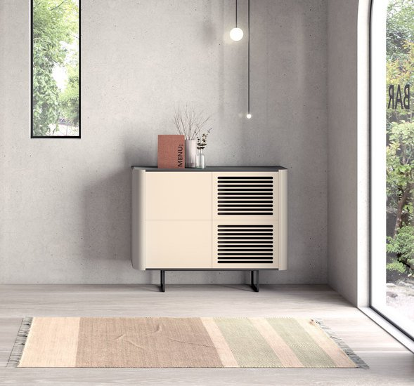Adara console (stacked modules) with grooved doors  momocca treniq 1 1574958540543
