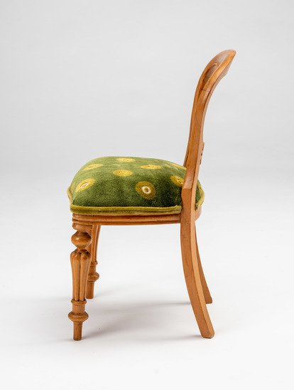 Extremely rare and delightful child's size vintage salesman sample chair rhubarbchairs treniq 1 1575488647794