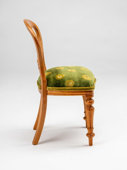 Extremely rare and delightful child's size vintage salesman sample chair rhubarbchairs treniq 1 1575488655272