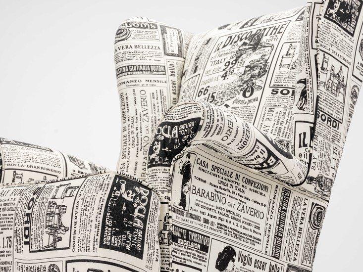 The 'old news%22 wingchair. rhubarbchairs treniq 1 1575502432763