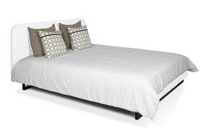 Mara-Bed-180-Rounded-Headboard-In-White/Black-Legs-(W/Slats)_Tema-Home_Treniq_0