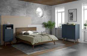 Mara-Bed-160-Rectangular-Headboard-In-Walnut/Wood-Legs_Tema-Home_Treniq_0