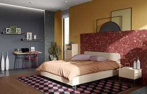 Mara-Bed-160-Rounded-Headboard-In-Light-Oak/-Black-Legs_Tema-Home_Treniq_0