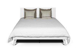 Mara-Bed-160-Rectangular-Headboard-In-White/-Wood-Legs_Tema-Home_Treniq_0