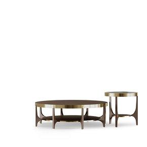 Plateau Wood Side Table