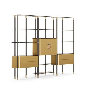 Murray Metal Bookcase