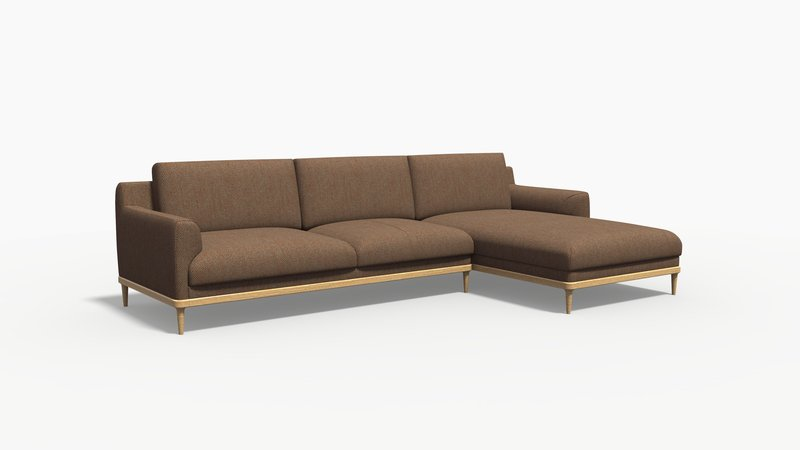 Aquia sofa with chaise bow and arrow treniq 1 1578652444024