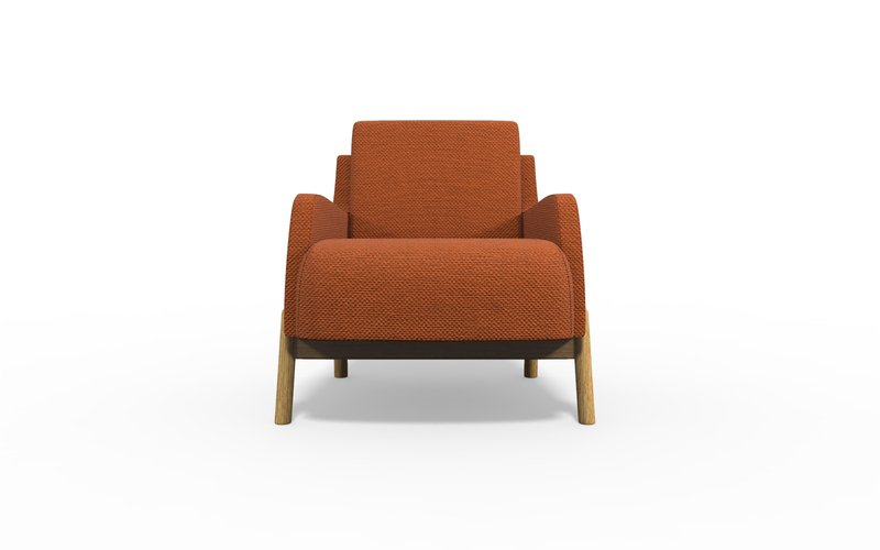 Jumeirah armchair with arm bow and arrow treniq 1 1578662861357