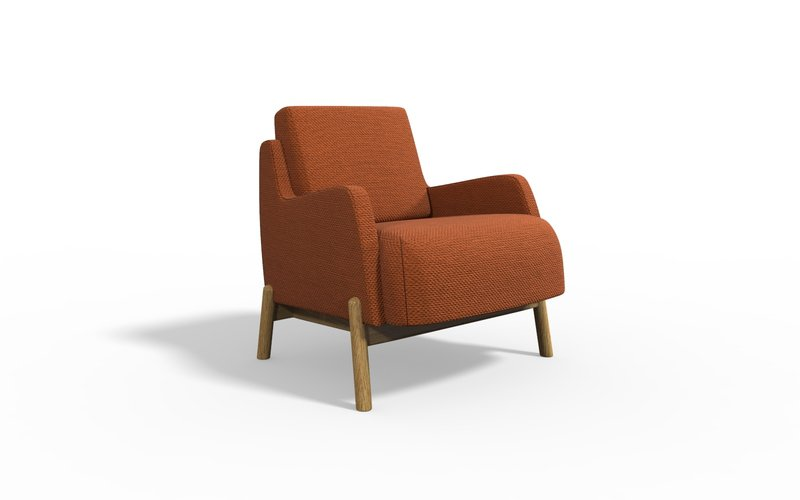 Jumeirah armchair with arm bow and arrow treniq 1 1578662861356