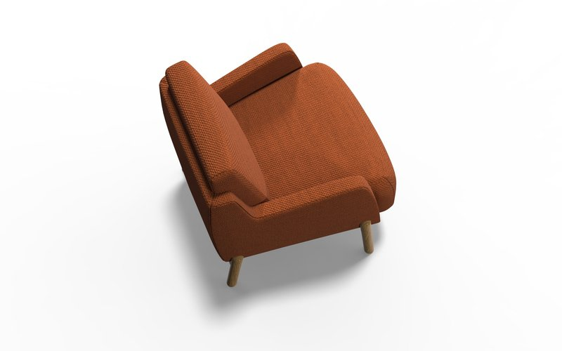 Jumeirah armchair with arm bow and arrow treniq 1 1578662861358