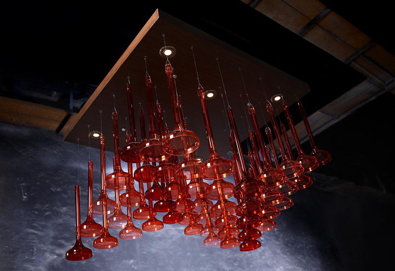 Convergence chandelier hive home treniq 1