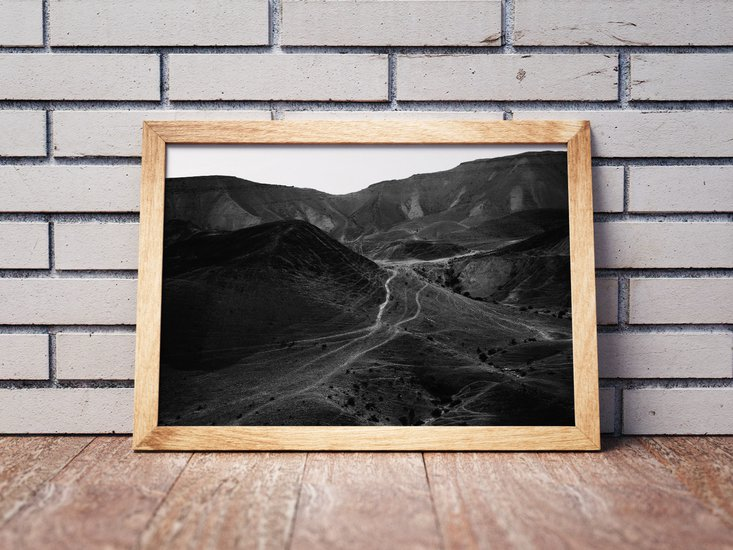 Mountains of the judean desert 5   limited edition fine art print 2 of 10 tal paz fridman treniq 1 1580223835632