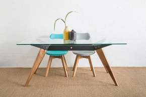Ffram Glass Dining Table