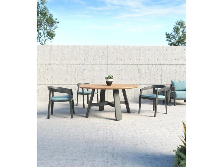 Vento aluminium round coffee table triconville treniq 1 1580967656865
