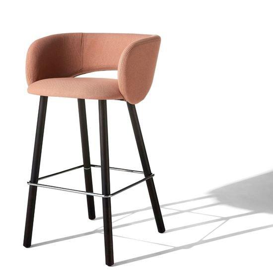Maui stool   wooden legs albaplus (a brand of metalmeccanica alba s.r.l.) treniq 1 1581341028557