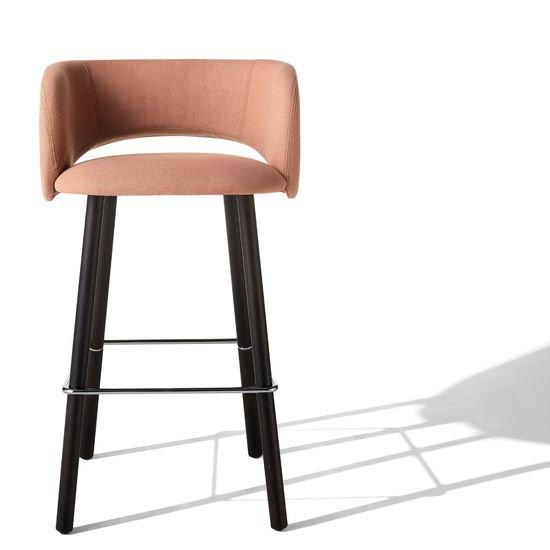 Maui stool   wooden legs albaplus (a brand of metalmeccanica alba s.r.l.) treniq 1 1581341038839