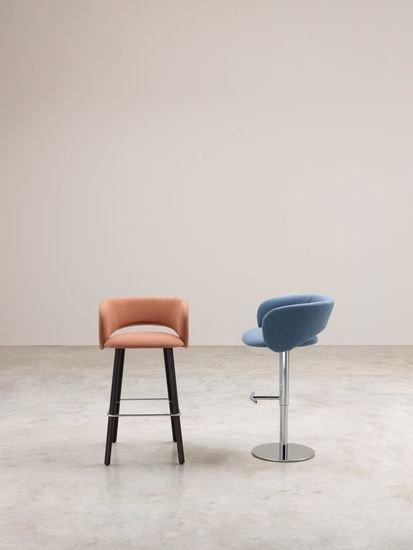 Maui stool   wooden legs albaplus (a brand of metalmeccanica alba s.r.l.) treniq 1 1581341055126