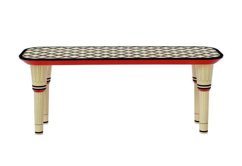 Easy street bench scarlet splendour treniq 2