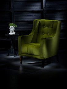 The-Antique-Pistachio-Velvet-Geometric-Empire-Chair._Rhubarb-Chairs_Treniq_0
