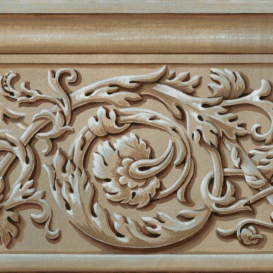 Wallpaper border  acanthus leaves by fiorentini design fiorentini design treniq 3 1581504502281