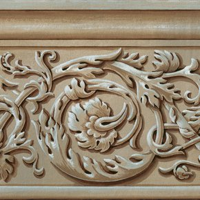 Wallpaper-Border,-Acanthus-Leaves-By-Fiorentini-Design_Fiorentini-Design_Treniq_0