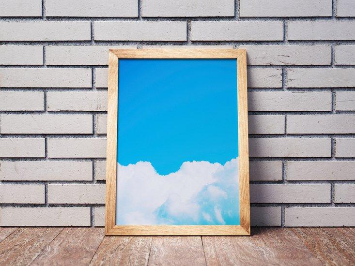Blue clouds i   limited edition fine art print 1 of 10 tal paz fridman treniq 1 1581522479414
