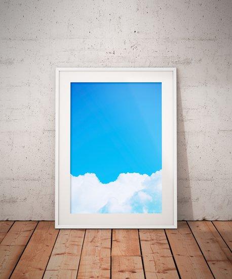 Blue clouds i   limited edition fine art print 1 of 10 tal paz fridman treniq 1 1581522479412