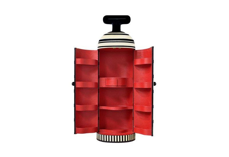 Monsieur verdoux cabinet scarlet splendour treniq 5