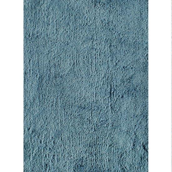 Tencel rug ocean blue