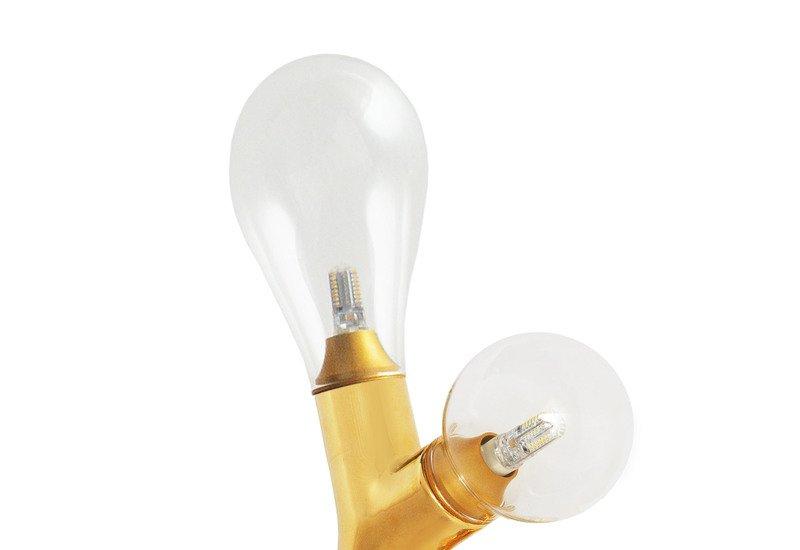 The double bulb wall light scarlet splendour treniq 3