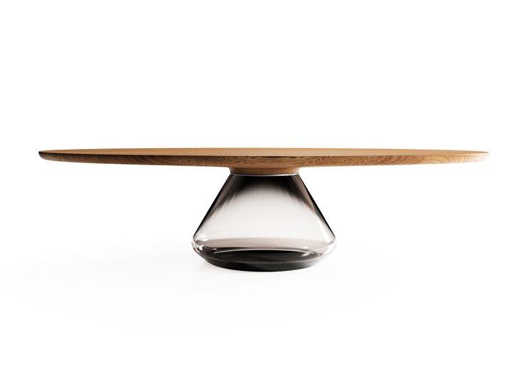 %22smoky eclipse%22 modern coffee table ft glass   oak by grzegorz majka mgm project grzegorz majka treniq 1 1582795258714