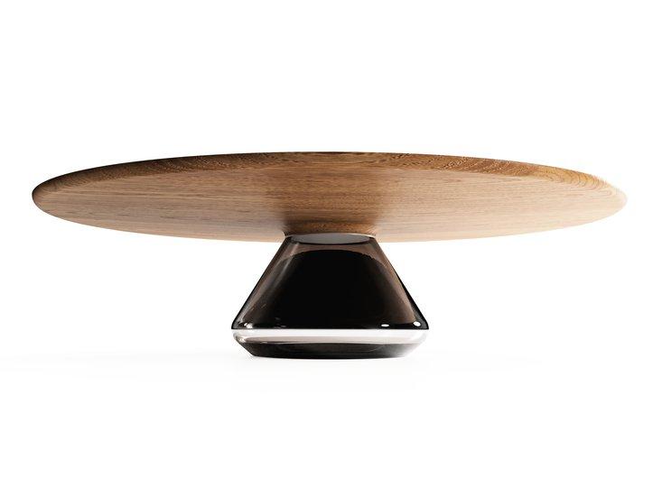 %22smoky eclipse%22 modern coffee table ft glass   oak by grzegorz majka mgm project grzegorz majka treniq 1 1582795258715