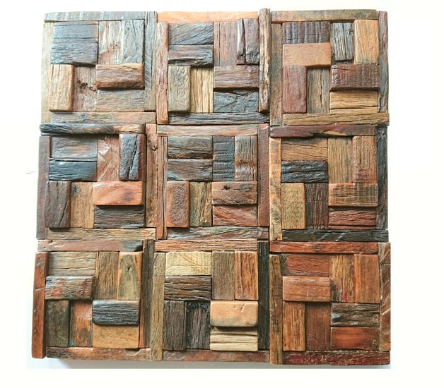 Wooden tiles  reclaimed  wood tile  wall covering  wall tiles  wood mosaic wood mosaic ltd treniq 11 1588182118924